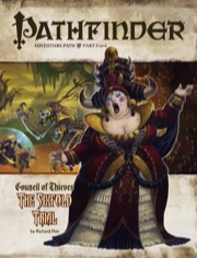 Cover of Pathfinder Adventure Path #26: The Sixfold Trial (Council of Thieves 2 of 6)