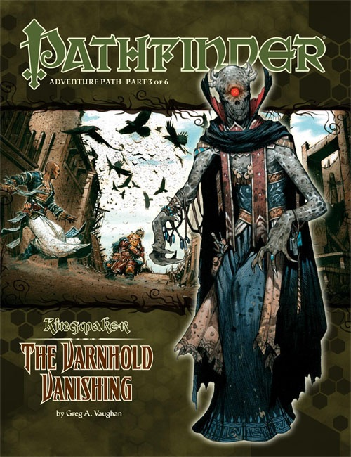 Cover of Pathfinder Adventure Path #33: The Varnhold Vanishing (Kingmaker 3 of 6)