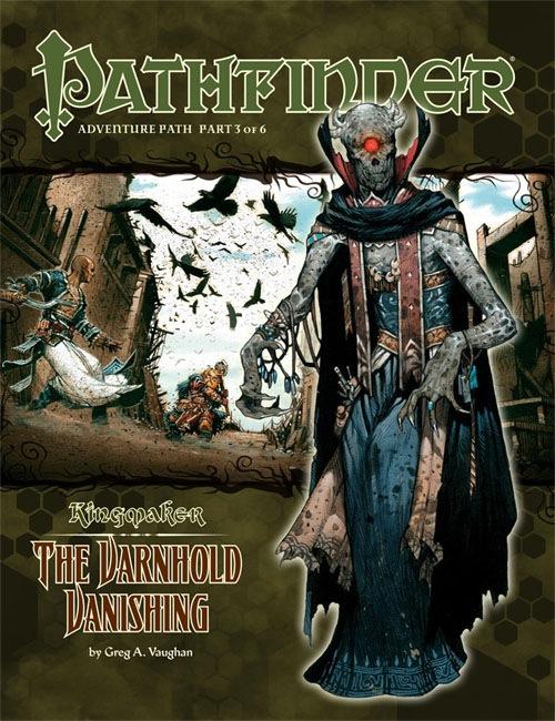Cover of Pathfinder Adventure Path #33: The Varnhold Vanishing (Kingmaker 3 of 6)