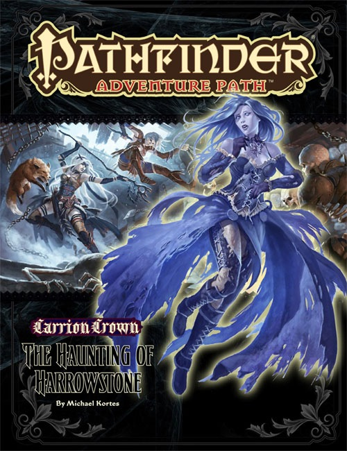 Cover of Pathfinder Adventure Path #43: The Haunting of Harrowstone (Carrion Crown 1 of 6)