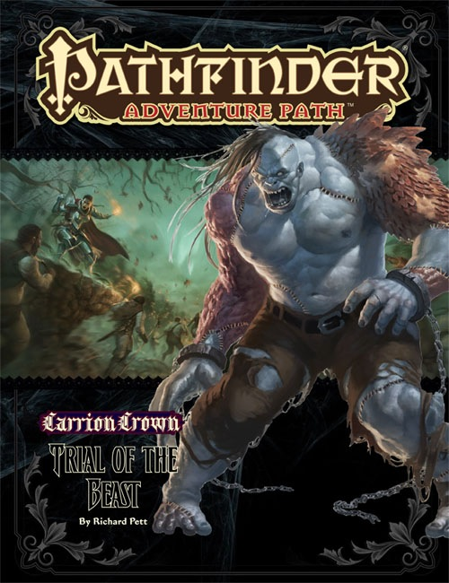 Cover of Pathfinder Adventure Path #44: Trial of the Beast (Carrion Crown 2 of 6)