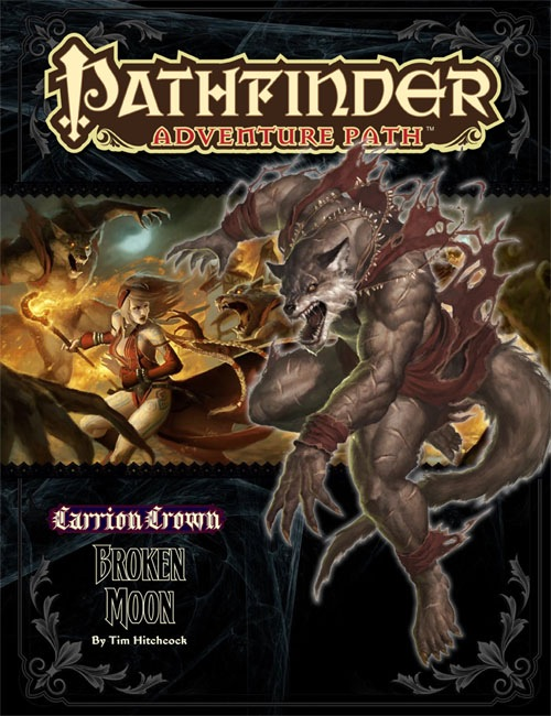 Cover of Pathfinder Adventure Path #45: Broken Moon (Carrion Crown 3 of 6)