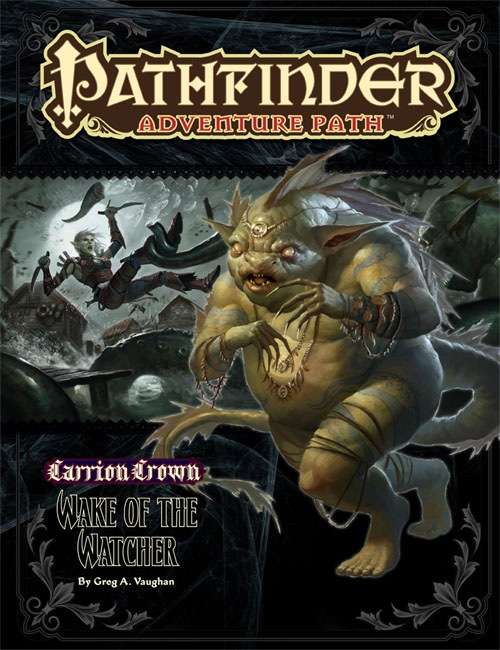 Cover of Pathfinder Adventure Path #46: Wake of the Watcher (Carrion Crown 4 of 6)