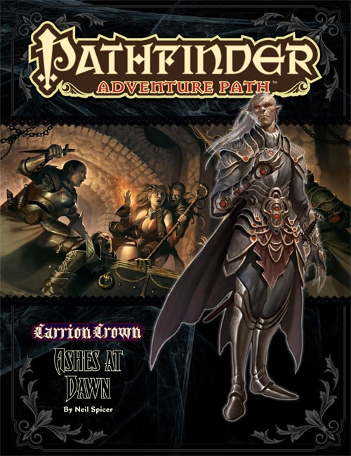 Cover of Pathfinder Adventure Path #47: Ashes at Dawn (Carrion Crown 5 of 6)