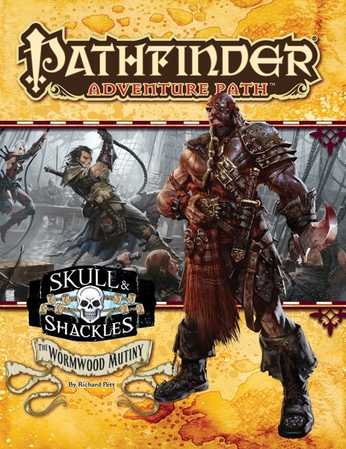 Cover of Pathfinder Adventure Path #55: The Wormwood Mutiny (Skull & Shackles 1 of 6)