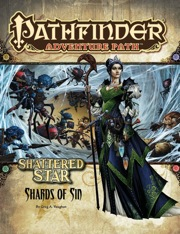 Pathfinder Adventure Path #61: Shards of Sin (Shattered Star 1 of 6) (PFRPG)