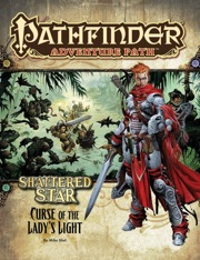 Pathfinder Adventure Path #62: Curse of the Lady's Light (Shattered Star 2 of 6) (PFRPG)