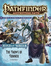 Cover of Pathfinder Adventure Path #67: The Snows of Summer (Reign of Winter 1 of 6)