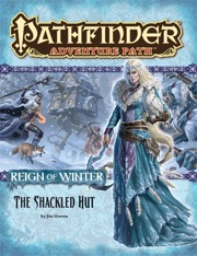 Cover of Pathfinder Adventure Path #68: The Shackled Hut (Reign of Winter 2 of 6)