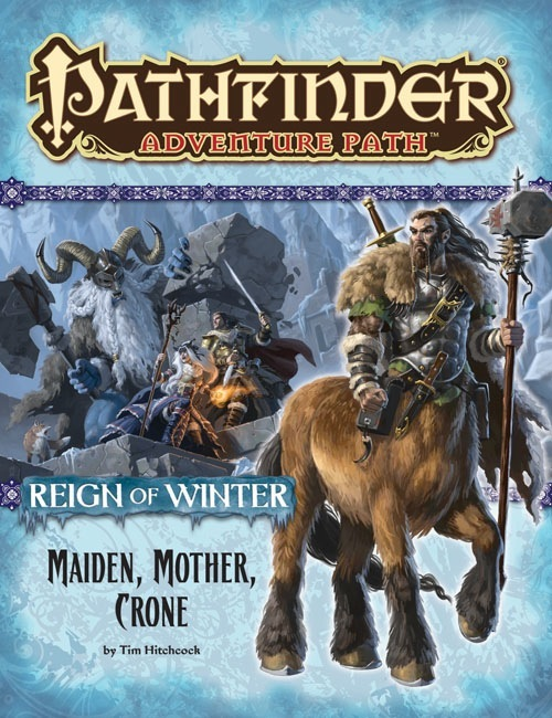 Cover of Pathfinder Adventure Path #69: Maiden, Mother, Crone (Reign of Winter 3 of 6)