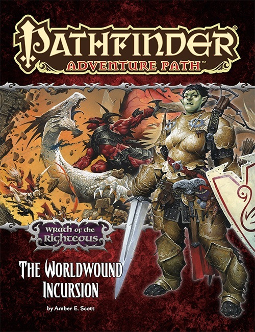 Cover of Pathfinder Adventure Path #73: The Worldwound Incursion (Wrath of the Righteous 1 of 6)