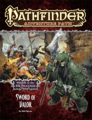 Paizo Publishing: Pathfinder Adventure Path 74: Sword of Valor