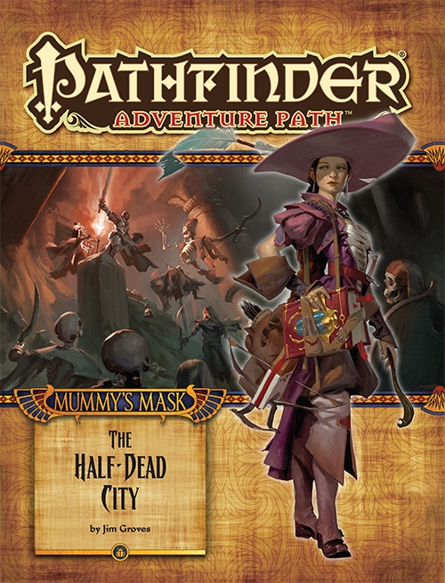 Cover of Pathfinder Adventure Path #79: The Half-Dead City (Mummy's Mask 1 of 6)