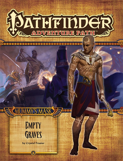 Cover of Pathfinder Adventure Path #80: Empty Graves (Mummy's Mask 2 of 6)
