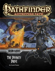 Cover of Pathfinder Adventure Path #90: The Divinity Drive (Iron Gods 6 of 6)