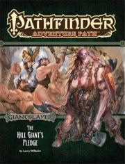 Pathfinder Adventure Path 92: The Hill Giants Pledge -  Paizo Publishing