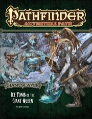 Pathfinder Adventure Path 94: Ice Tomb of the Giant Queen -  Paizo Publishing