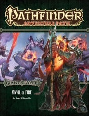 Pathfinder Adventure Path 95: Anvil of Fire -  Paizo Publishing