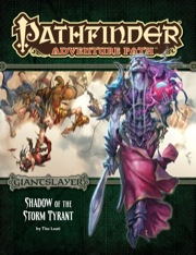 Pathfinder Adventure Path 96: Shadow of the Storm Tyrant -  Paizo Publishing