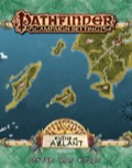 Pathfinder Campaign Setting: Ruins of Azlant Poster Map Folio