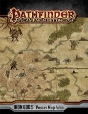 Iron Gods Pathfinder Poster Map Folio -  Paizo Publishing