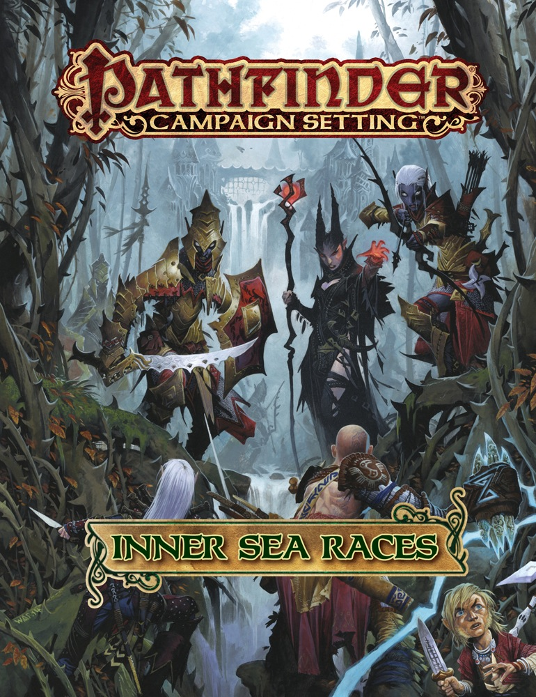 .com  Pathfinder Campaign Setting: Inner Sea Races PFRPG Hardcover