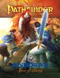 Pathfinder Companion: Andoran, Spirit of Liberty (PFRPG)