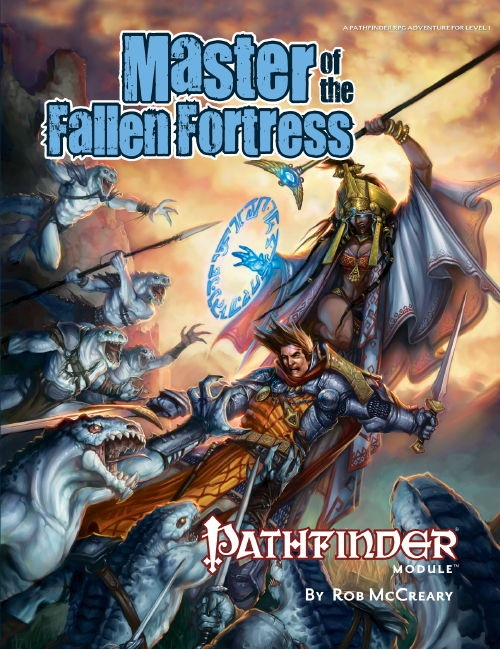 Cover of Master of the Fallen Fortress