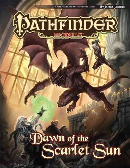 Cover of Dawn of the Scarlet Sun