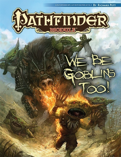 Cover of We Be Goblins Too!