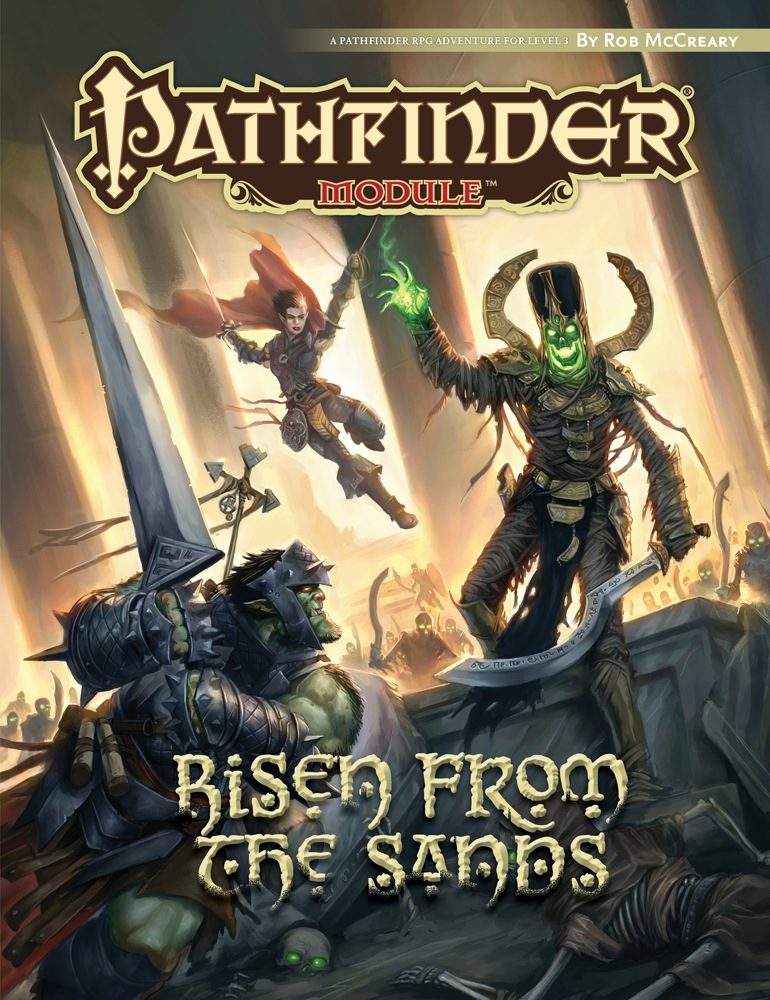 Like Most Years Paizo Released A Short Adventure For It This Year S Is Risen From The Sands By Rob