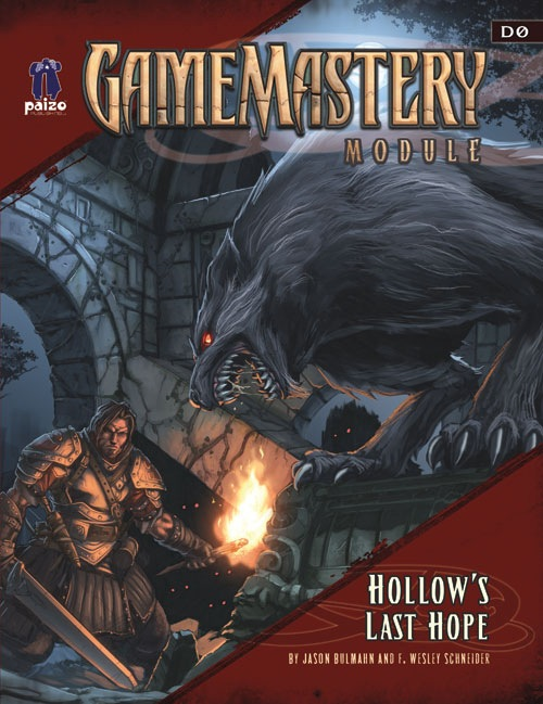 Cover of GameMastery Module D0: Hollow's Last Hope
