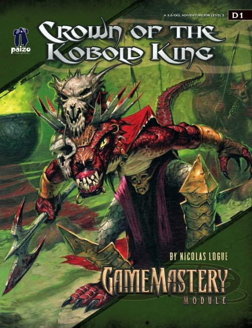 Cover of GameMastery Module D1: Crown of the Kobold King