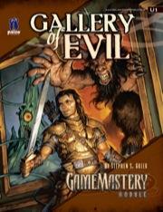 Cover of GameMastery Module U1: Gallery of Evil