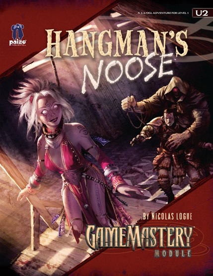 Cover of GameMastery Module U2: Hangman's Noose