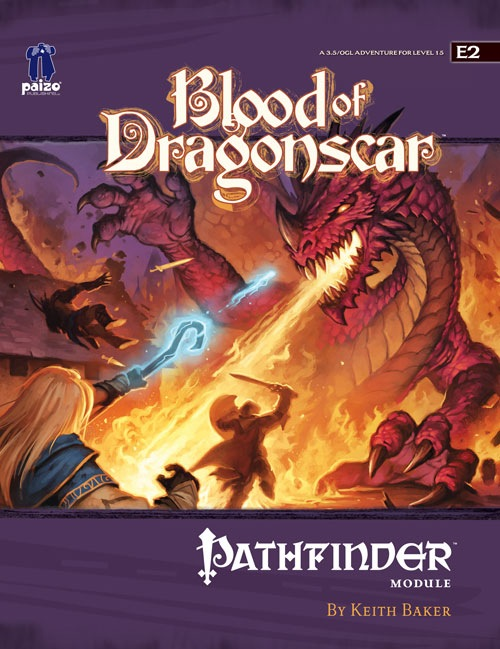 Cover of Blood of Dragonscar