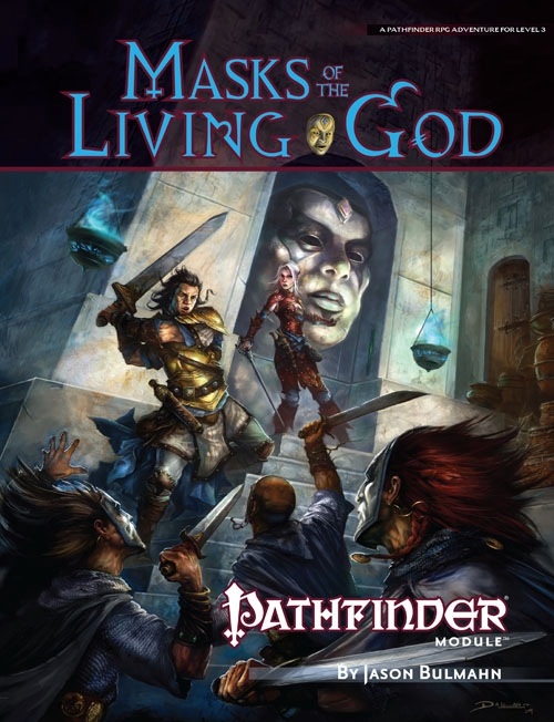 Cover of Masks of the Living God