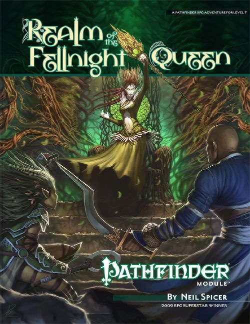 Cover of Realm of the Fellnight Queen