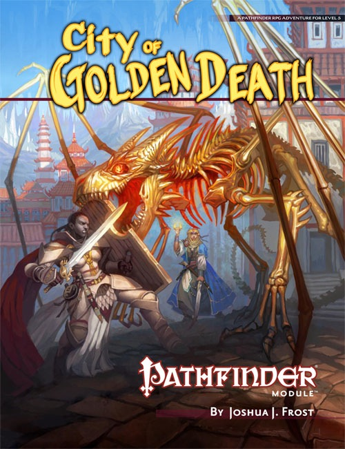 Cover of City of Golden Death