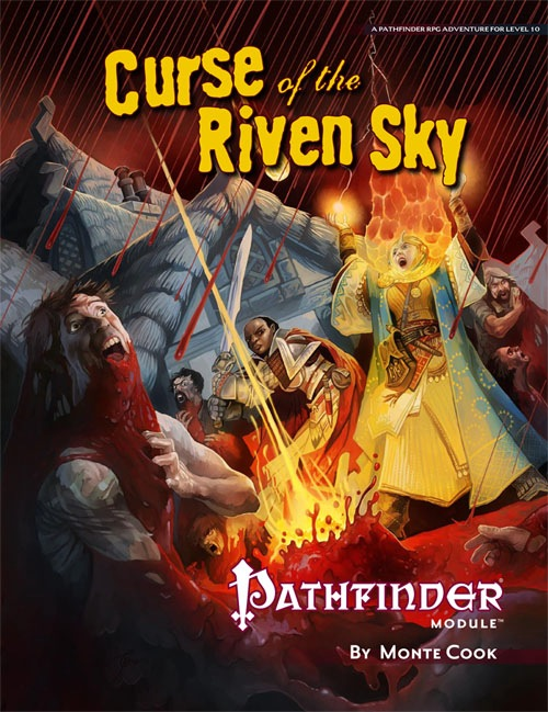 Cover of Curse of the Riven Sky
