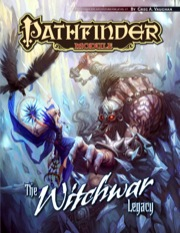 Pathfinder Module: The Witchwar Legacy (PFRPG)