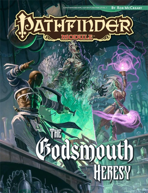 Cover of The Godsmouth Heresy