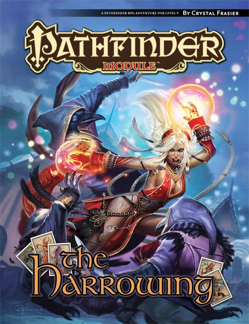Cover of The Harrowing