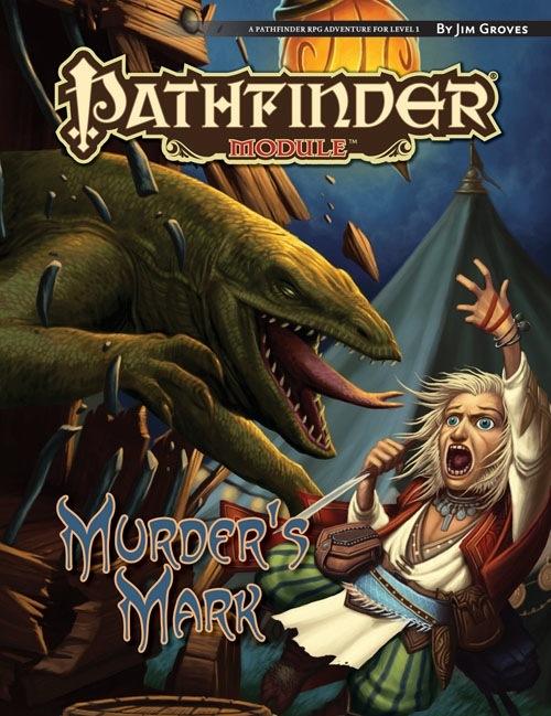 Cover of Murder's Mark