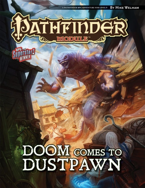 Cover of Doom Comes to Dustpawn