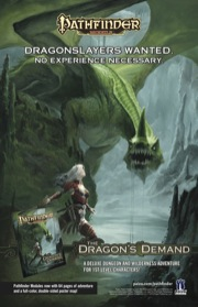 Pathfinder Module: The Dragon's Demand (PFRPG)