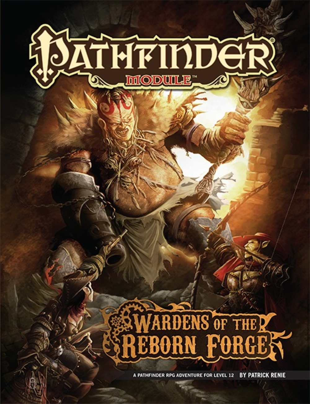 Cover of Wardens of the Reborn Forge