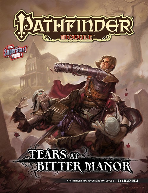Cover of Tears at Bitter Manor