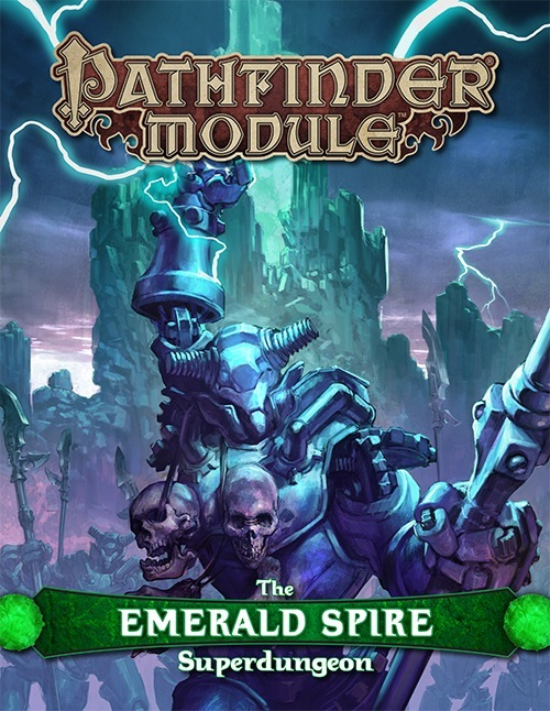 Cover of The Emerald Spire Superdungeon