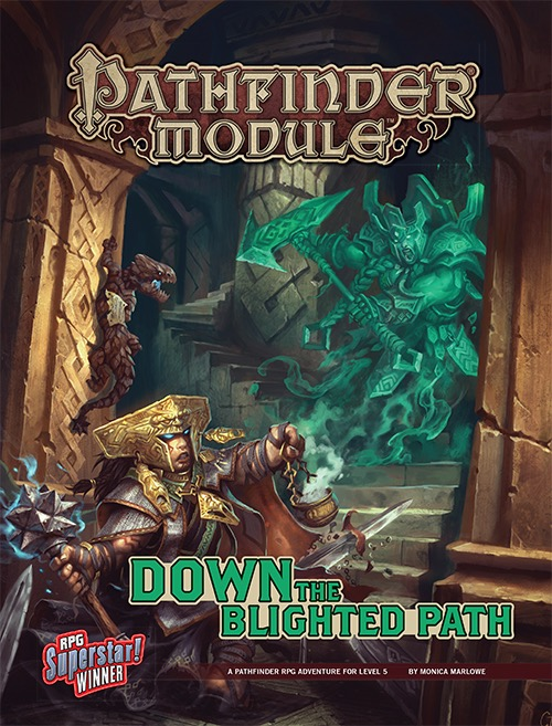 Cover of Down the Blighted Path